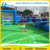 Commercial Inflatable Human Foosball Court , Inflatable Soap Soccer Field For Football Games