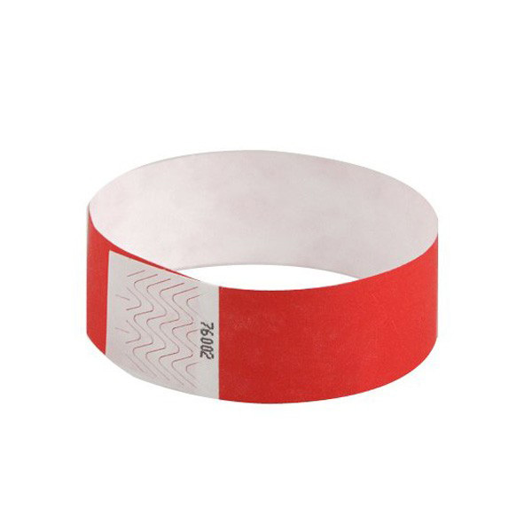 One Time Use HF Paper RFID Wristbands for Event