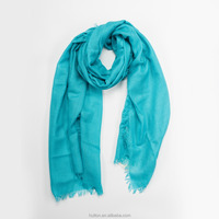Top quality scarf,sky blue scarf,cashmere 50% and silk 50%