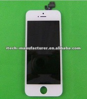 LCD SCREEN for iPhone5 with Touch /Digiziter Assembly +Competive Price