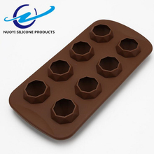 Cake Decorating Tools Diamond 3d Silicone Chocolate Mold