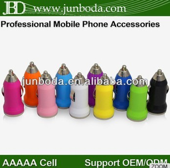 Wholesale 5V 1A High quality USB car charger for Iphone 4/5 accessories