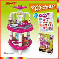 Hot selling classic luxuri plastic kitchenware toys