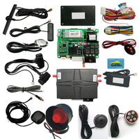 Car sharing system with car alarm gps tracker nfc remote start car