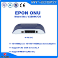 4FE/GE EPON ONU Compatible with Huawei/ZTE/Fiberhome OLT Made in China