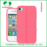 Hot sale top quality soft tpu mass production case for iphone 4