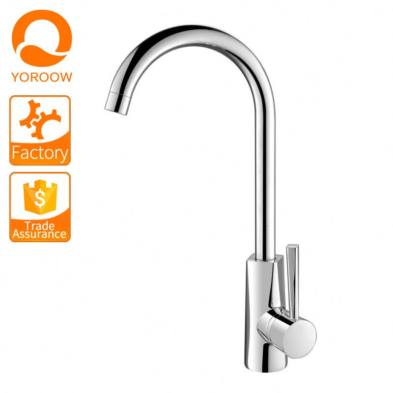 Modern sanitary wares hot and cold water faucet pull out chrome polished kitchen sink faucets mixer