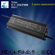 ETL listed IP67 Waterproof constant current 3000mA 36v 100w led driver