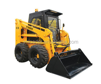 YN845 skid steer loader 50 HP 700KG CAPACITY