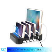 4 Ports Mobile Phone USB Universal Charging Station For iPhone 7/7 Plus/iPad Air