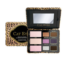 LUFUSEAN Totally Cute Sugar Pop Cat Eyes Eyeshadow Palette Cheek Blush Palette Face Cosmestics 3 Types For Choose