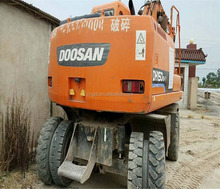 usd doosan dh150w-7 dh140w-7 dh140w wheel excavator for sale doosan dh130 dh140 dh150 wheel excavator daewoo hd200 for sale