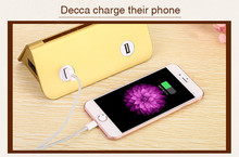 Wholesale Charger Plates 2017 NEW 4-USB Table Cafe Restaurant Shop Stand Phone universal Charger