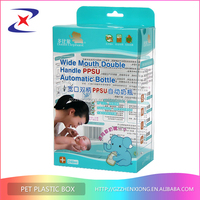 Baby use products nice design high quality plastic soft crease boxes
