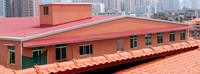 Dimension stability lasting color insulated roof price with high quality