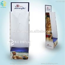 HIC retail display for clothing, clothing store display racks with hook