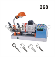 China high security key cutting machine for Wen Xing 268 locksmith key cutting machine