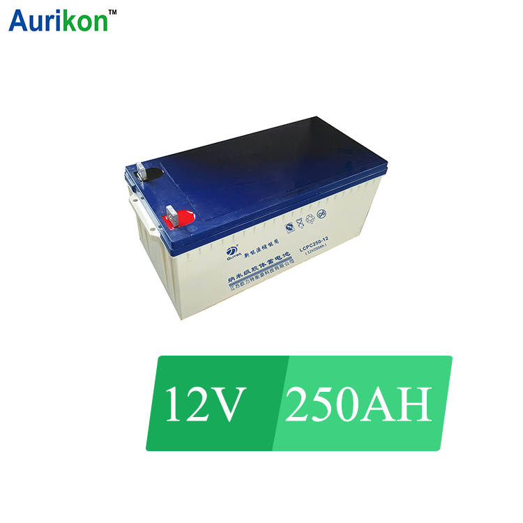 Hot sale 12V 250Ah Gel Battery for off grid aircon/off grid solar system