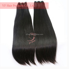 Wholesale hair distributors import real virgin indian temple hair weft,100% natural indian human hair price list