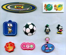 cheap custom good sports rubber 3d patches