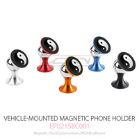 Phone Holder, Air Vent Car Mount Smartphone Cradle Cell Phone Car Holder with Ball Joint for Smartphones