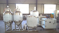 high quality stainless steel complete microbrewery equipment for sale