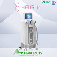 High Intensity Focused Ultrasound microcurrent slimming machine without harm to the human body