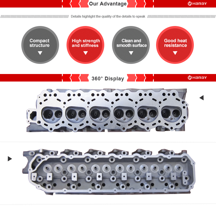 11041-03J85 11041-VB500 TB42 Cylinder Head for Patrol GR/Forklift/Safari