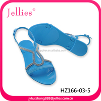 comfortable PVC latest fashion girls sandals