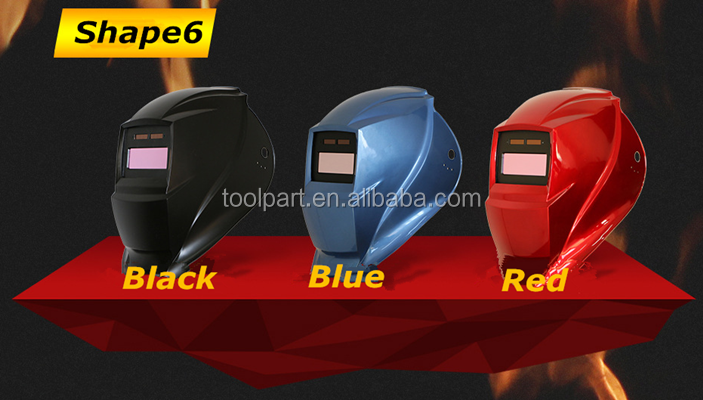 Solar Power Auto Darkening Welding Helmet / Welding Helmets 5-1 SERIES