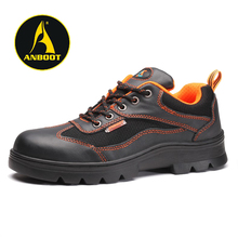asphalt paving industrial leather shock absorption safety shoes