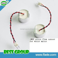 1MHZ piezo flow sensor for water meter