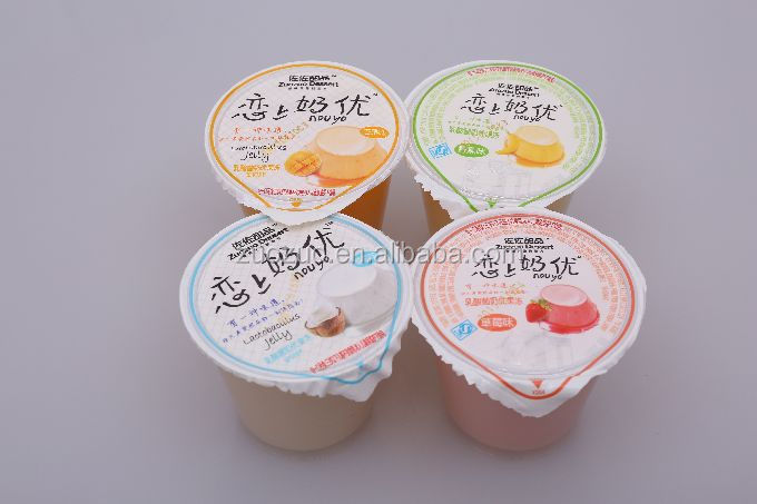 80g delicious good quality mixed fruit cup jelly