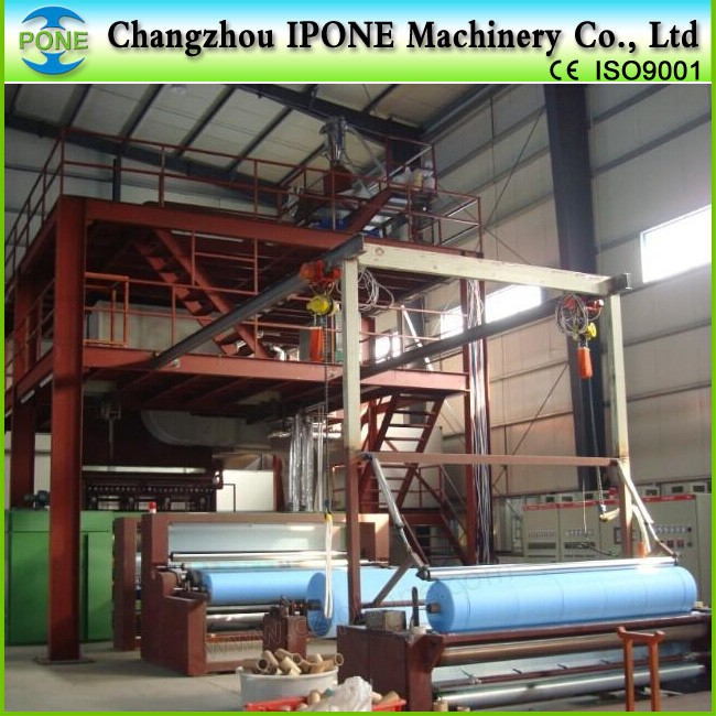 fabric making machines pp nonwoven fabric production line