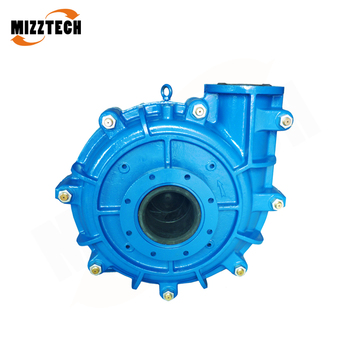 MIZZTECH MAH Single Stage fgd Flotation Mining Slurry Pump