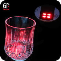 Wedding Ceremony Favor Flashing Led Drinking Glass Decoration Sticker