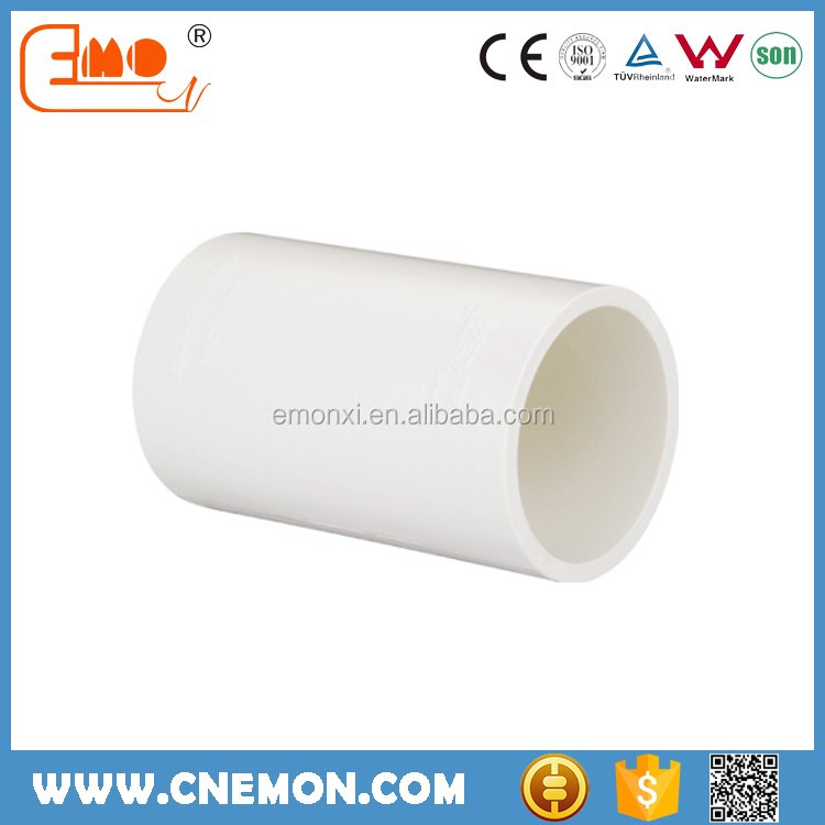 2016 Hot Sale 20-50mm White Plastic PVC Quick Coupling for Water Supply