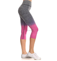 Girls summer breathable sport running short pants yoga pants