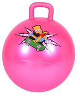 Inflatable Hopper Ball With Square Handle