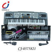 Kids multifuctional simulation toy kids 54 keys electronic organ keyboard with microphone
