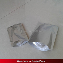 stand up bag for food/aluminum foil mylar airtight ziplock pouch with custom design