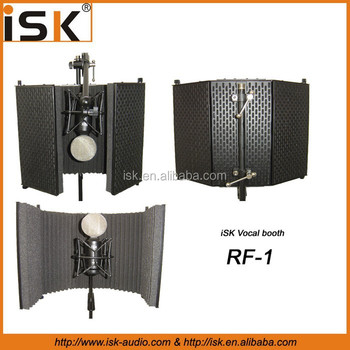 High Quality microphone Reflexion Filter vocal booth