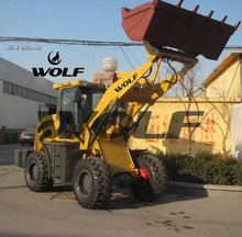 WOlf loader Weifang loader 20F wheel loader snow V blade V plow