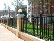 Brand new modern iron fence made in China