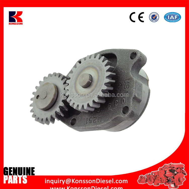 K38 K50 spare parts oil pump 3821579 3042378 for diesel engines