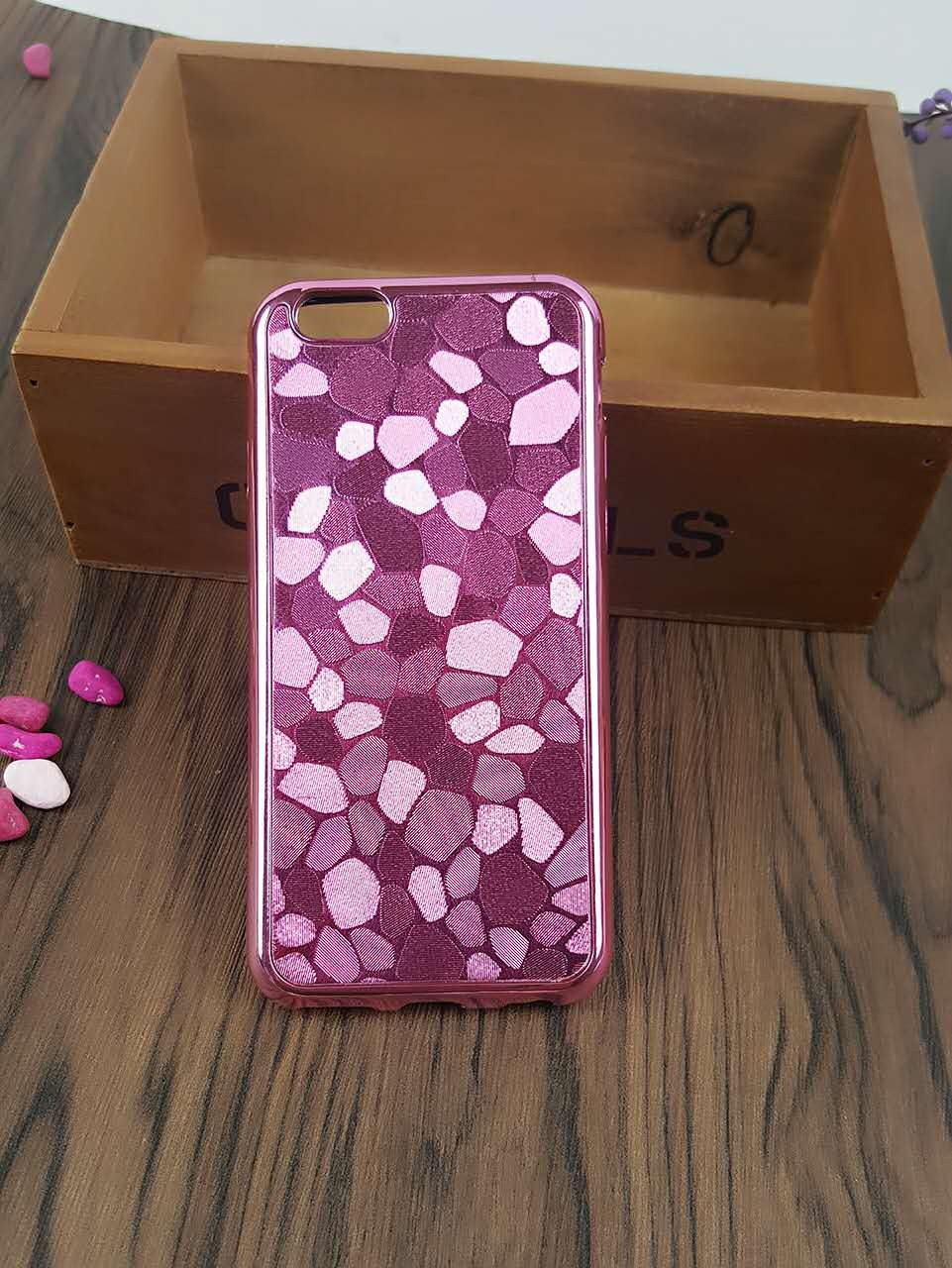 New products best quality mobile casing stone case for iphone 7 plus phone case tpu & PC