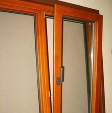 Energy save Insulated Aluminum windows doors tilt turn windows