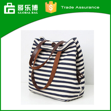 Custom Han Edition Retro Stripe Canvas Shoulder Bags