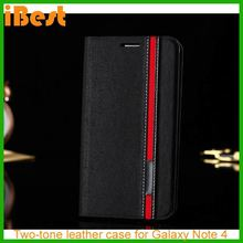 iBest NEW Smart Luxury Flip Leather Cover Case For Samsung Galaxy Note 4,cell phone case for samsung galaxy note 4