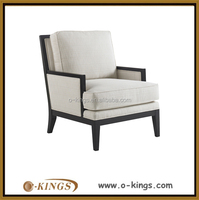 Customized restaurant sofa chaise lounge single sofa chair